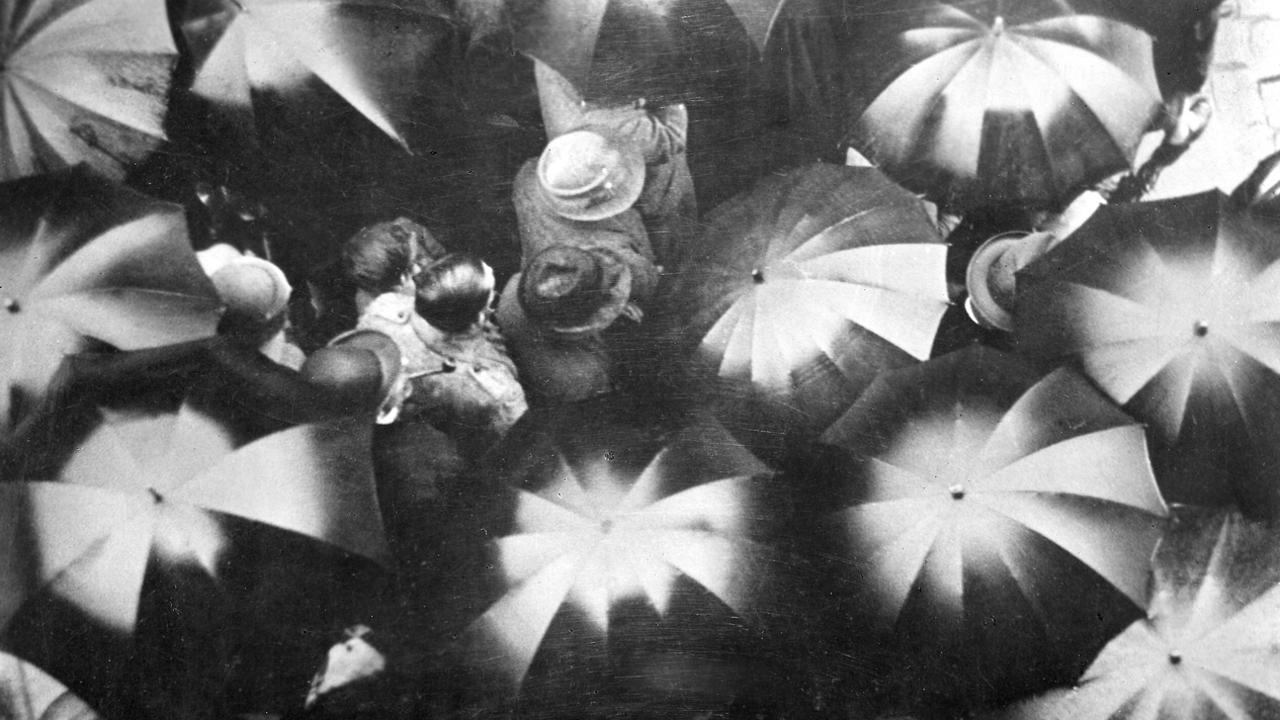 Knipselkrant Regen (1929)